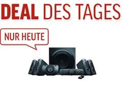 Bild zu Logitech Z906 3D-Stereo-Lautsprecher THX (Dolby 5.1-Surround-Sound und 500 Watt) für 199,99€