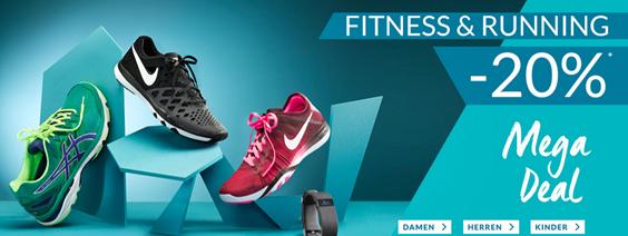 Bild zu Engelhorn: 20% Rabatt auf Fitness- und Runningsartikel