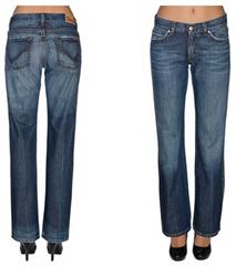Bild zu Only Auto Straight Damen-Jeans im Used Look für 13,99€