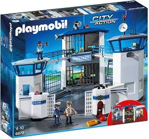 Bild zu Playmobil City Action Polizei-Kommandozentrale mit Gefängnis (6872) für 53,54€