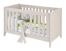 Bild zu [beendet] Pinolino Kinderbett Madita Eiche grau für 136,51€ (Vergleich: 275,96€)