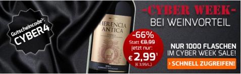 Bild zu Weinvorteil: 6 Flaschen Herencia Antica – Bobal Cabernet Sauvignon für 22,89€