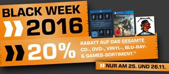 Bild zu Saturn: 20% Rabatt auf CDs, DVDs, Blu-rays & Games
