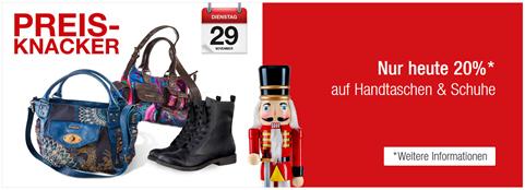Bild zu Galeria Kaufhof: 20% Rabatt auf Handtaschen & Schuhe