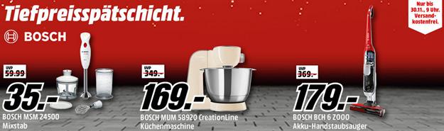 Bild zu Media Markt Tiefpreisspätschicht mit Angeboten von Bosch
