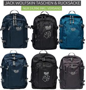 Bild zu Jack Wolfskin Berkeley Rucksack in verschiedenen Farben für je 24,99€