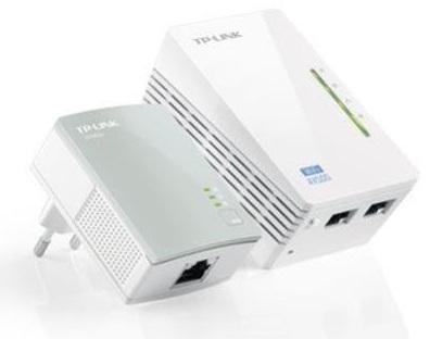 Bild zu TP-Link 500Mbps WLAN Powerline Adapter TL-WPA4220KIT [Refurbished] für 29,90€