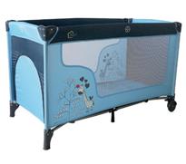Bild zu fillikid Reisebett Giraffe hellblau/dunkelblau für 34,19€