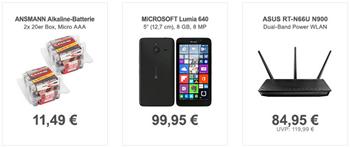 Bild zu Die Allyouneed.com Tagesangebote, z.B. Microsoft Lumia 640 Smartphone für 99,95€