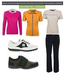 Bild zu Outlet46: Bally Golfschuhe und Golfbekleidung ab 9,99€