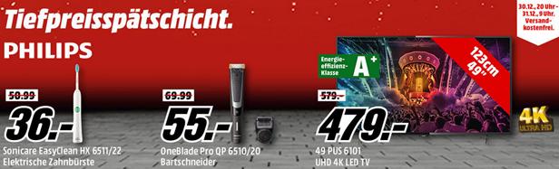 """Bild zu Media Markt """"Tiefpreisspätschicht"""" mit Angeboten von Philips"""
