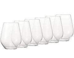 Bild zu 6er Pack Spiegelau Authentis Casual Rotwein/ Wasser Glas (460 ml) für 5,99€ + 3,99€ Versand