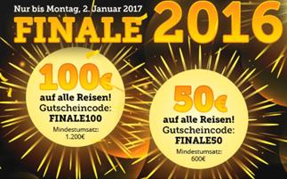 Bild zu HLX: 50€ Rabatt (ab 600€) oder 100€ Rabatt (ab 1200€) auf Reisen