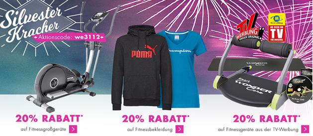 Bild zu Karstadt: 20% Rabatt auf diverse Fitness-Artikel (Smartwatches, Bekleidung usw.)