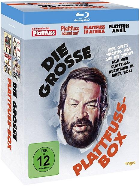 Bild zu Bud Spencer – Die grosse Plattfuss-Box [Blu-ray] für 15,93€