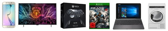 Bild zu Saturn Super Sunday Angebote, z.B. Xbox One Elite Controller + Gears of War 4 für 109€
