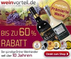 Bild zu Weinvorteil: heute alle Lieferungen versandkostenfrei + Neu- und Bestandskundengutscheine