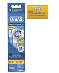 Bild zu Oral-B Aufsteckbürsten Precision Clean 8+2 Sonderpack ab 14,87€