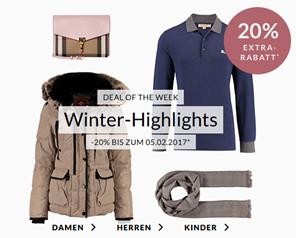 Bild zu Engelhorn Winter Sale mit bis zu 70% Rabatt + 20% Extra Rabatt auf die Winter Highlights