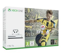 Bild zu Microsoft xBox One S (1TB) inklusive Fifa 17 für 259€
