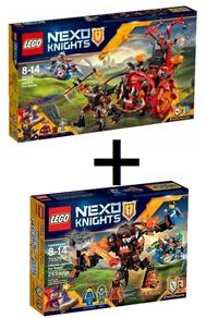 Bild zu Lego Nexo Knights 70316 Jestros Gefährt der Finsternis + Lego Nexo Knights – Infernox und die Königin (70325) ab 44,98€