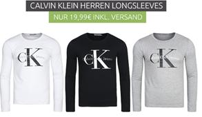 Bild zu Calvin Klein Herren Longsleeves für 19,99€ inklusive Versand
