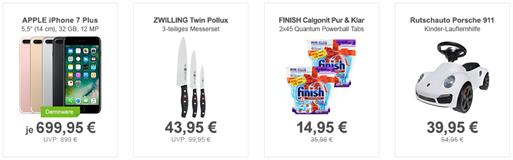 Bild zu Die Allyouneed.com Top Deals, z.B. ZWILLING Twin Pollux 3-teiliges Messerset für 43,95€