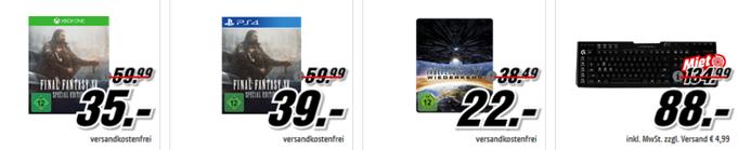 """Bild zu Media Markt """"Gönn dir Dienstag"""", so z.B. LOGITECH G910 Orion Gaming-Tastatur für 88€"""