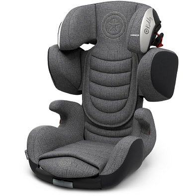 Bild zu Kindersitz Kiddy Cruiserfix 3 Grey (Gruppe 2/3) für 149,99€ (Vergleich: 198,14€)