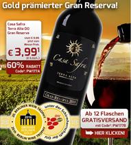Bild zu Weinvorteil: 12 Flaschen Casa Safra – Terra Alta DO Gran Reserva für 47,88€
