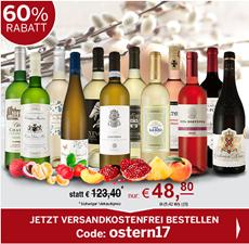 Bild zu ebrosia: Oster-Selektion XL mit 12 verschiedenen Weinen für 48,80€