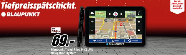 Bild zu Blaupunkt TravelPilot 54 CE LMU–Navigationssystem für 69€