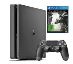 Bild zu SONY PlayStation 4 Konsole Slim 1TB + The Last Guardian + Uefa Euro 2016 für 249€
