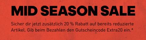 Bild zu adidas: Sale mit bis zu 50% Rabatt + 20% Extra Rabatt