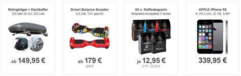 Bild zu Die Allyouneed.com Top Deals, z.B. Alu Relingträger Dachträger VDP Brio ab 149,95€