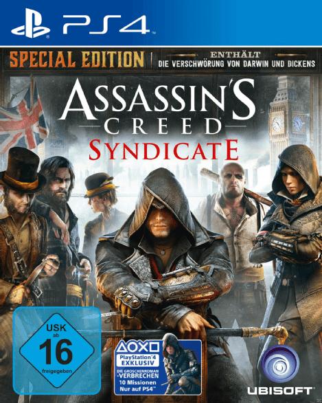 Bild zu [Ausverkauft – PS4] Assassin's Creed Syndicate (Special Edition) für 14,98€