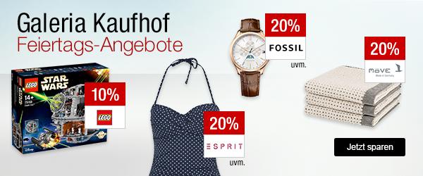 Bild zu Galeria Kaufhof Feiertags-Angebote, z.B. 20% Rabatt auf Champagner und Schaumweine