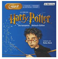 Bild zu Harry Potter: Die komplette Hörbuch Edition – Gelesen von Rufus Beck (MP3/CD) für 59,99€