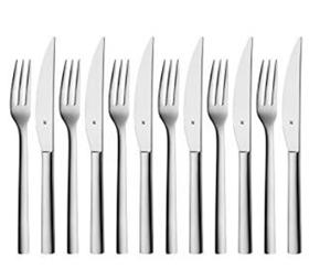 Bild zu WMF Steakbesteck-Set 12-teilig für 6 Personen für 29,95€