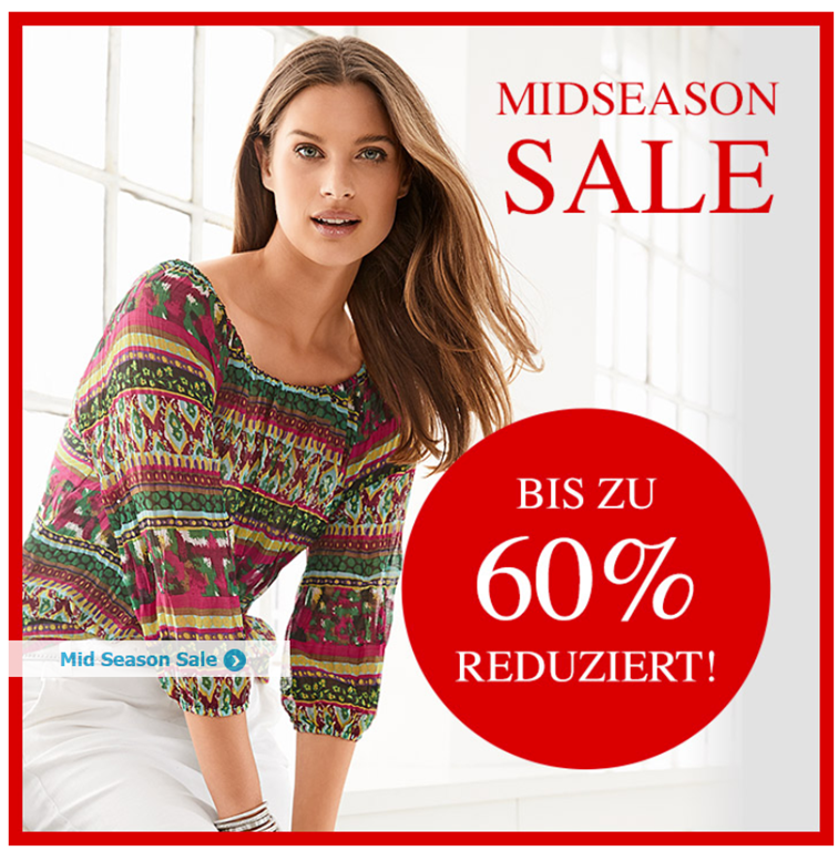 best website 7e086 e5825 Heine.de: Sale mit bis zu 60% Rabatt + 15% Extra-Rabatt dank ...