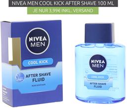 Bild zu NIVEA MEN Cool Kick After Shave Fluid Herren-Pflege 100 ml für 3,99€