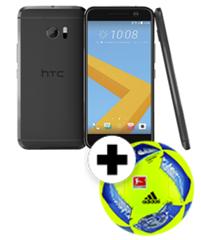 Bild zu HTC 10 Smartphone (13,2 cm (5,2 Zoll) Super LCD 5 Display, 1440 x 2560 Pixel, 12 Ultrapixel, 32 GB, Android) + Adidas Fußball für 379€