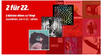 Bild zu 2 Alben auf Vinyl für 22€ zzgl. 1,99€ Versand