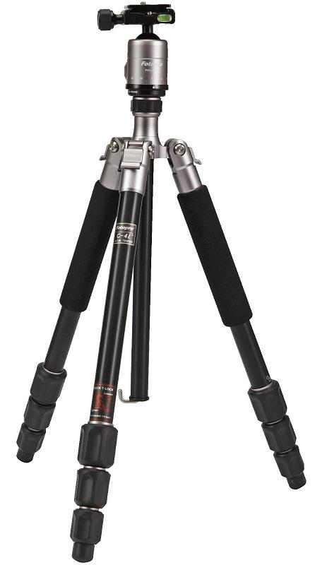 Bild zu Dreibein Stativ Rollei 22500 Fotopro C4I+53P Titanium für 55€