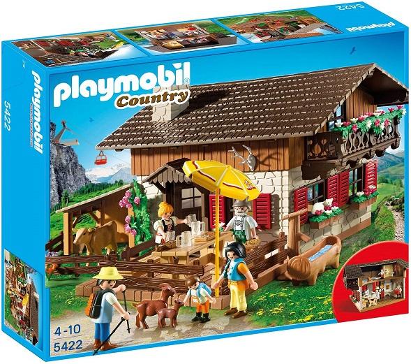 Bild zu Playmobil Country Almhütte (5422) für 29,44€ (Vergleich: 38,20€)