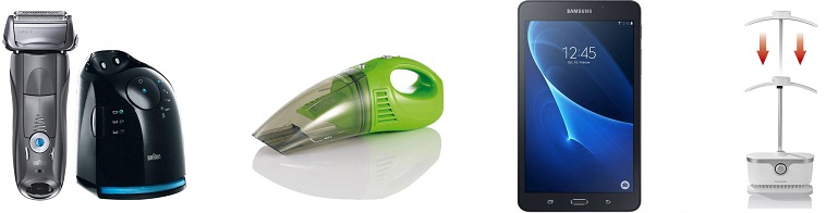 Bild zu Die Allyouneed.com Top Deals, z.B. [B-Ware] CleanMaxx Akku Handsauger für 14,95€