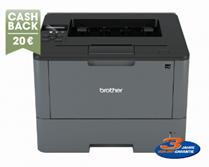 Bild zu Brother HL-L5200DW Laserdrucker (s/w, A4, Drucker, bis zu 40 Seiten/Min., Netzwerk, WLAN, Duplex, USB) für 219,90€ + 20€ Cashback