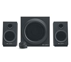Bild zu Logitech Z333 Multimedia Speakers – 2.1 Lautsprecher für Home Entertainment (mit 80 Watt und Subwoofer) für 22€