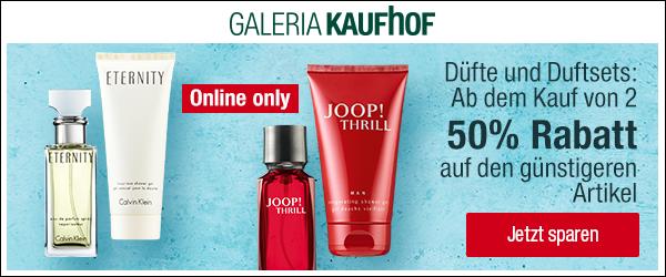 Bild zu Galeria Kaufhof: 50% Rabatt auf den zweiten Artikel aus ausgesuchten Düften und Duftsets