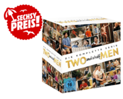 Bild zu Two And A Half Men – Komplettbox [40 DVDs] für 46€